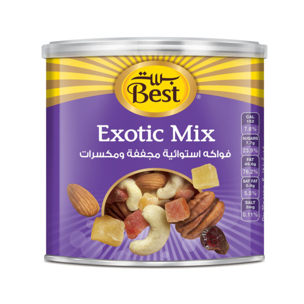 BEST EXOTIC MIX CAN 250 GM