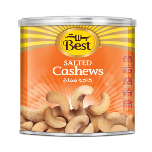 BEST ROASTED AND SALTED CASHEWCAN275 GM