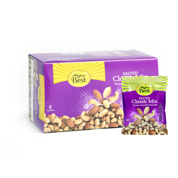 BEST ROASTED AND SALTED CLASSIC MIXBOX50 GM (6 PCS)
