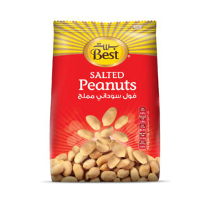 BEST ROASTED AND SALTED PEANUTS BAG 300 GM