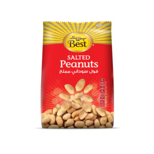 BEST ROASTED AND SALTED PEANUTS BAG 150 GM