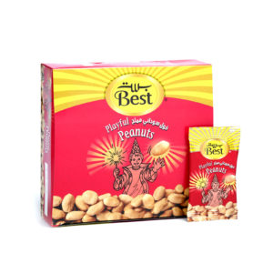 BEST ROASTED AND SALTED PEANUTS BOX 13 GM (30 PCS)