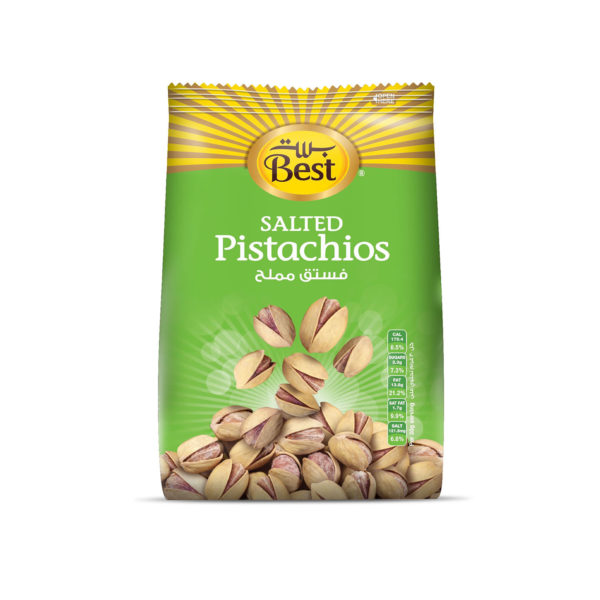 BEST ROASTED AND SALTED PISTACHIO BAG 150 GM