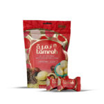 TAMRAH DATE WITH ALMOND COVERED WITH MINT CHOCOLATE BAG 100 GM