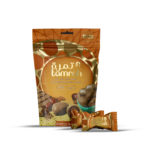 TAMRAH DATE WITH ALMOND COVERED WITH DARK CHOCOLATE BAG 100 GM