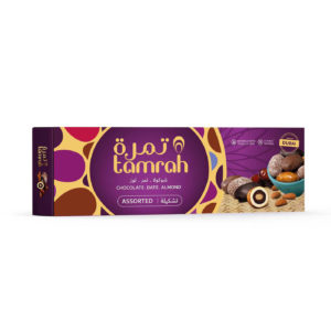 TAMRAH ASSORTMENT DATE CHOCOLATE WITH ALMOND	BOX	135GM