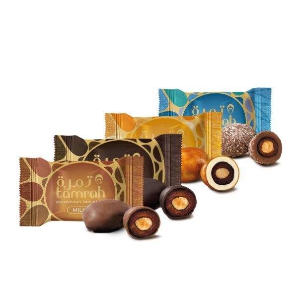 TAMRAH ASSORTMENT DATE CHOCOLATE WITH ALMONDBOX135GM