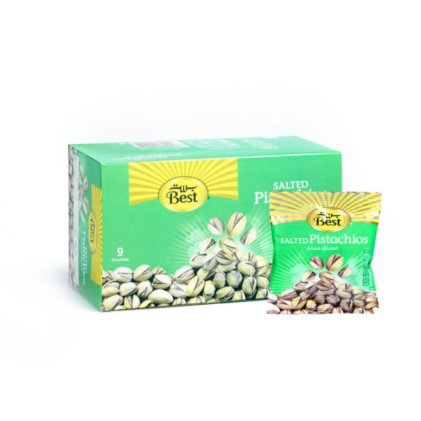 BEST ROASTED AND SALTED PISTACHIO BOX 30 GM (9 PCS)
