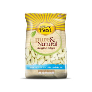 BEST RAW WHOLE BLANCHED ALMOND  BAG 150 GM