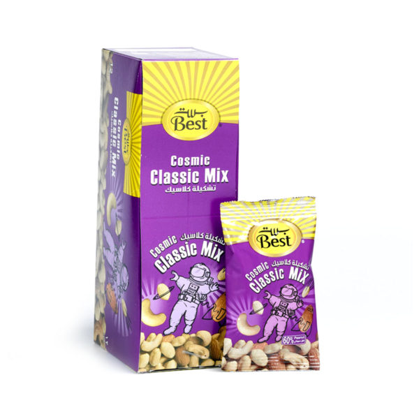 BEST ROASTED AND SALTED CLASSIC MIXBOX20 GM (12 PCS)