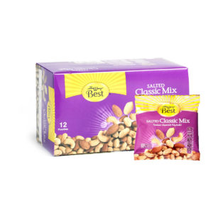 BEST ROASTED AND SALTED CLASSIC MIX BOX 40 GM (12 PCS)