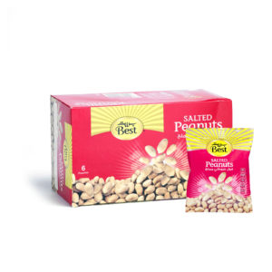 BEST ROASTED AND SALTED PEANUTS BOX 50 GM (6 PCS)