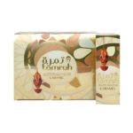TAMRAH DATE WITH ALMOND COVERED WITH CARAMEL CHOCOLATE BOX 250 GM