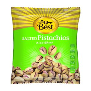 BEST ROASTED AND SALTED PISTACHIO BAG 500 GM