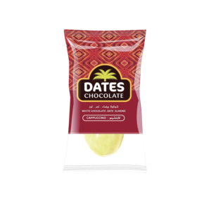 DATES CHOCOLATE – DATE WITH ALMOND COVERED WITH CAPPUCCINO CHOCOLATE BAG 3KG