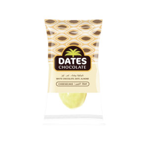DATES CHOCOLATE – DATE WITH ALMOND COVERED WITH CHEESECAKE CHOCOLATE BAG 3KG