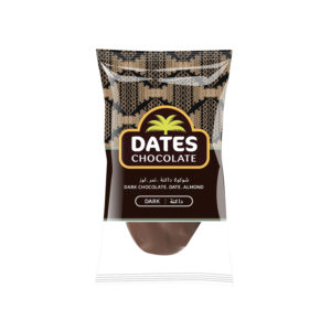 DATES CHOCOLATE – DATE WITH ALMOND COVERED WITH DARK CHOCOLATE BAG 3KG
