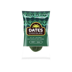 DATES CHOCOLATE – DATE WITH ALMOND COVERED WITH MINT CHOCOLATE BAG 3KG