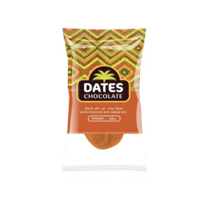 DATES CHOCOLATE – DATE WITH ORANGE SLICE COVERED WITH ORANGE CHOCOLATE BAG 3KG
