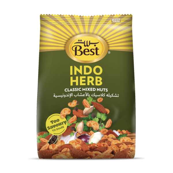 BEST INDO HERB FLAVOR MIXNUT BAG 150GM