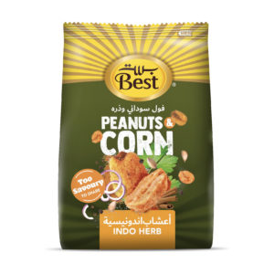 BEST INDO HERB FLAVOR PNT & CORN BAG 150GM