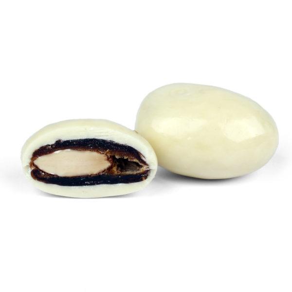 KHODARI DATE WITH ALMOND COATED WITH CHEESECAKE CHOCOLATE