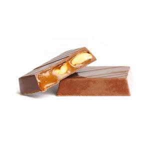 MILK CHOCOLATE WITH SOFT CARAMEL & SEASALT PEANUT