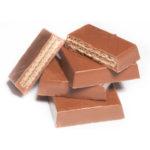MILK CHOCOLATE WITH SOFT CARAMEL & KROKAN PISTA-PECAN