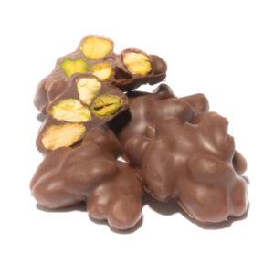 MILK CHOCOLATE PISTACHIO ROCHE