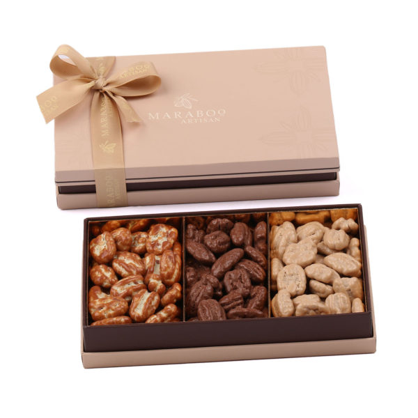 RECTANGULAR BOX FILLED WITH DRAGEE
