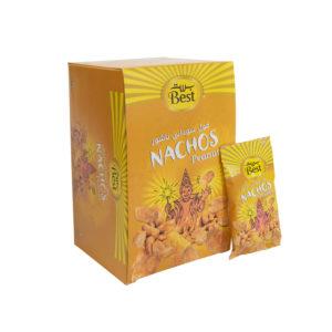 BEST NACHOS FLAVOR PEANUTS BOX 13 GM (30 PCS)